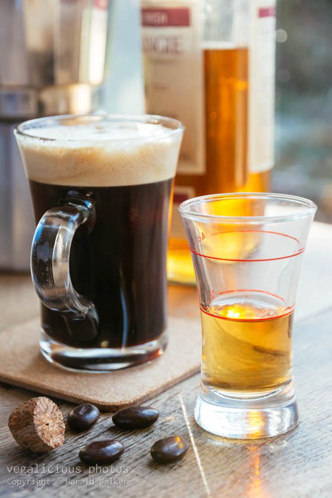 Stock photo of Making Irish Coffee