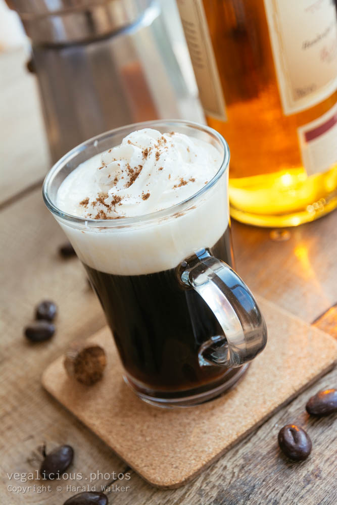 Stock photo of Irish coffee