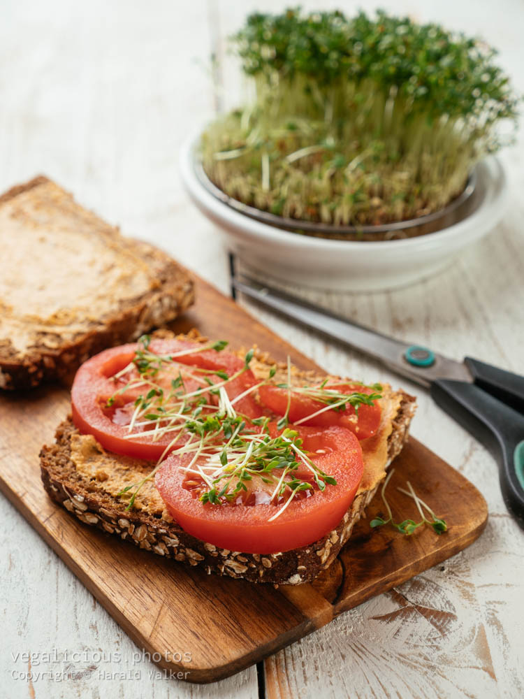 Stock photo of Sandwhich with cress