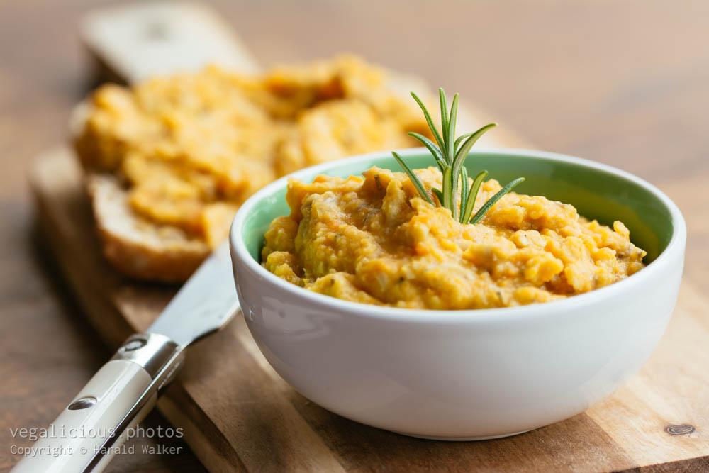 Stock photo of Carrot Lentil Spread