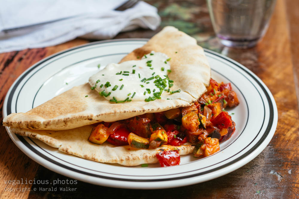 Stock photo of Middleastern Filled Flatbreads