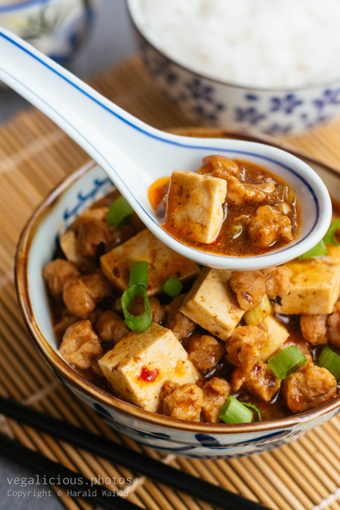 Stock photo of Mapo Tofu