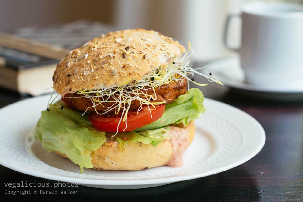 Stock photo of Veggie Burger