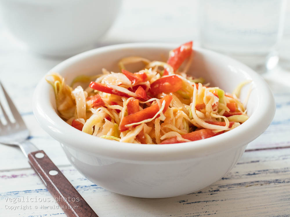 Stock photo of Sweet and Spricy Coleslaw