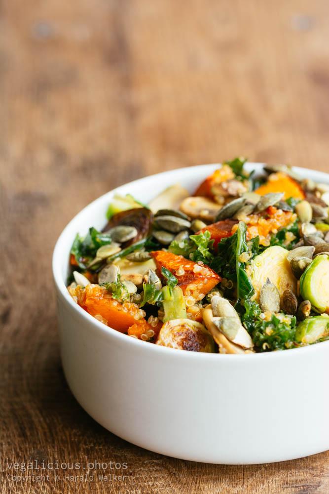 Stock photo of Autumn Quinoa Salad