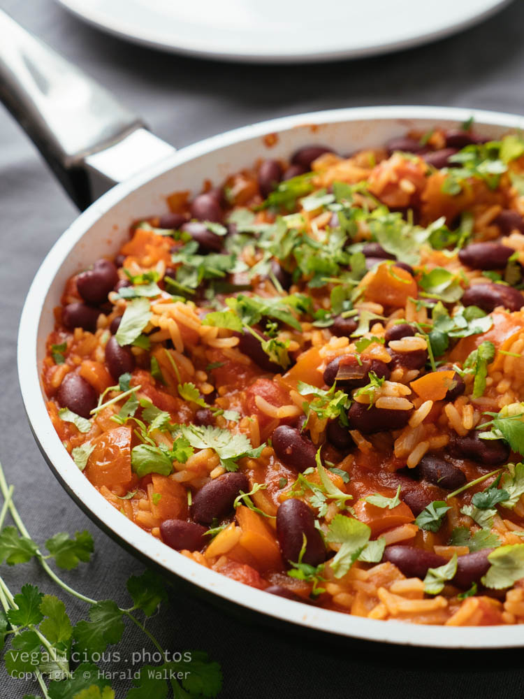 Stock photo of Red Rice and Beans