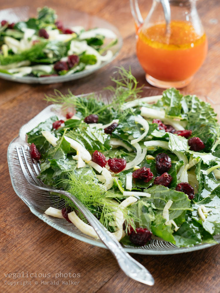 Stock photo of Siberian Kale Salad