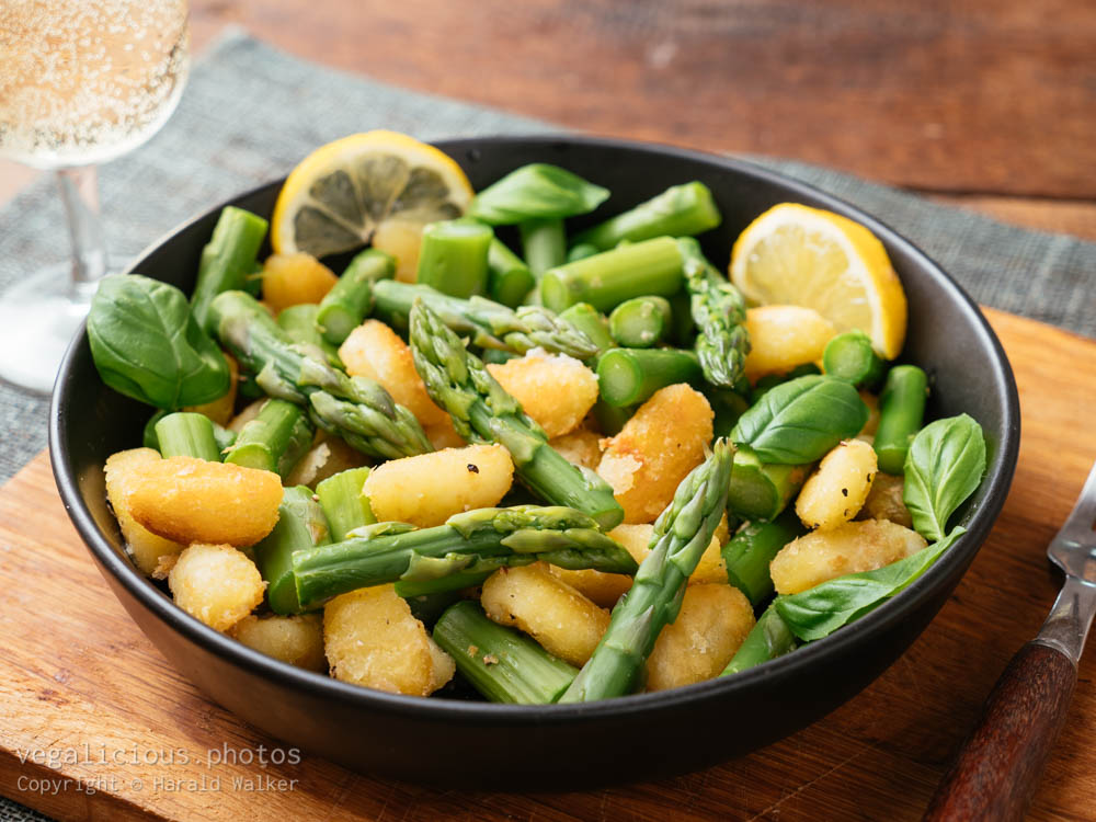 Stock photo of Spring Gnocchi