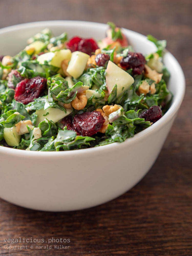 Stock photo of Kale Waldorf Salad