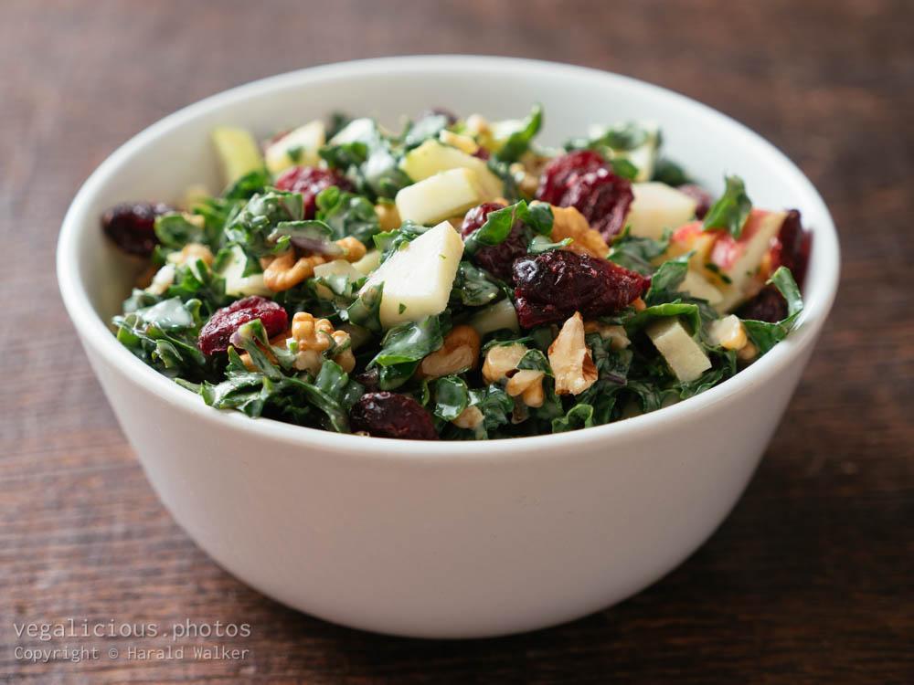 Stock photo of Kale Waldorf Salad