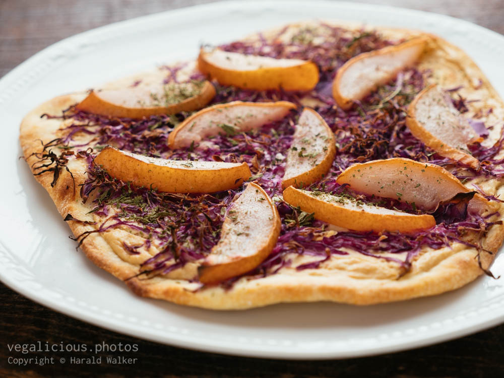 Stock photo of Flammkuchen