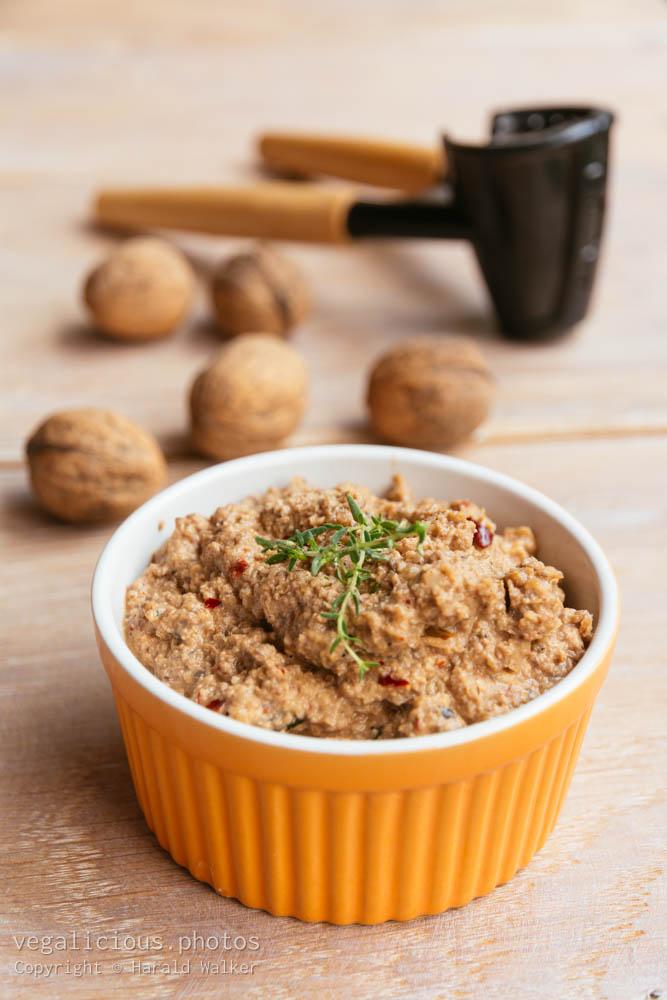 Stock photo of Mushroom and Walnut Pâté