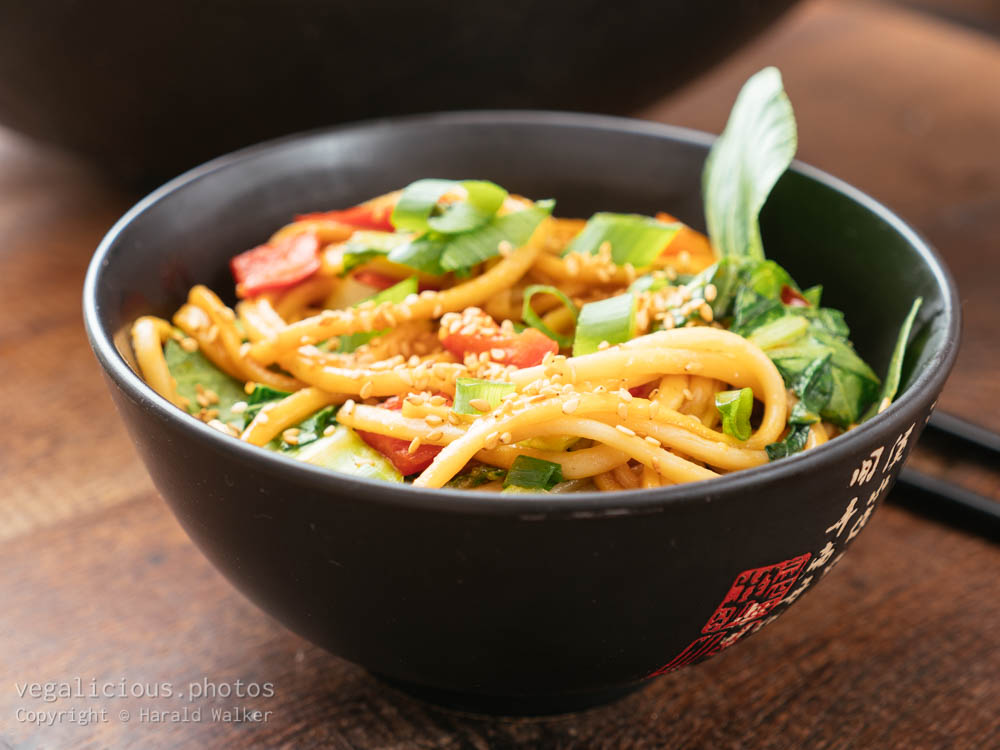Stock photo of Asian Stir-fry with Bok Choi