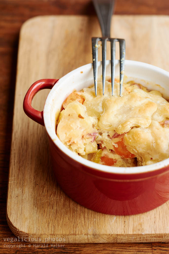Stock photo of Vegetable Pot-Pie