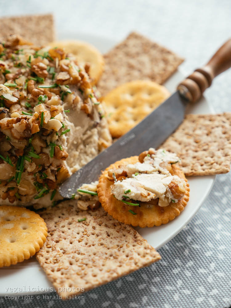 Stock photo of Vegan Cheddary Nut Ball