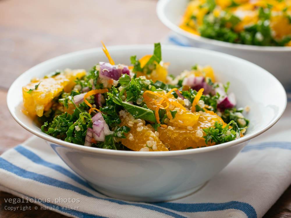 Stock photo of Kale & Citrus Salad