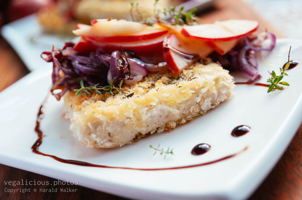 Stock photo of Apple and Thyme Crunchy Tofu