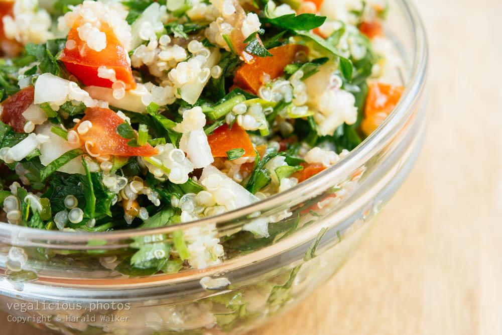Stock photo of Quinoa Taboulli