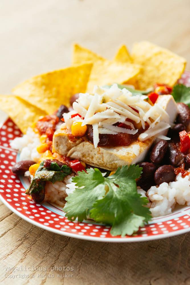 Stock photo of Santa Fe Tofu