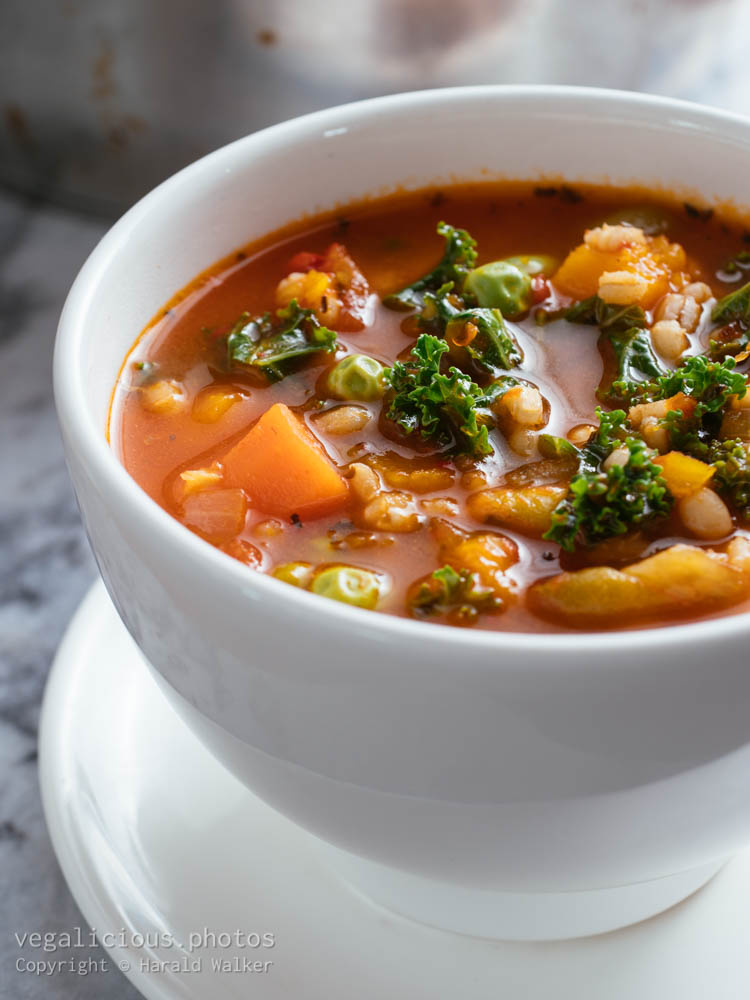 Stock photo of Italian Winter Minestrone Soup