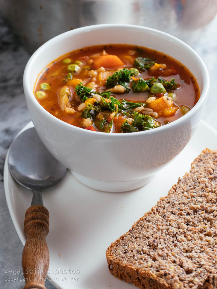 Stock photo of Italian Winter Minestrone Soup