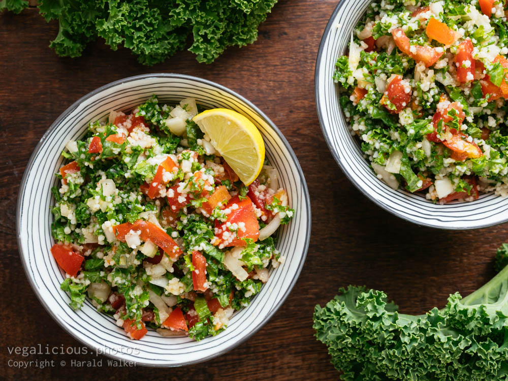 Stock photo of Kale Tabbouleh