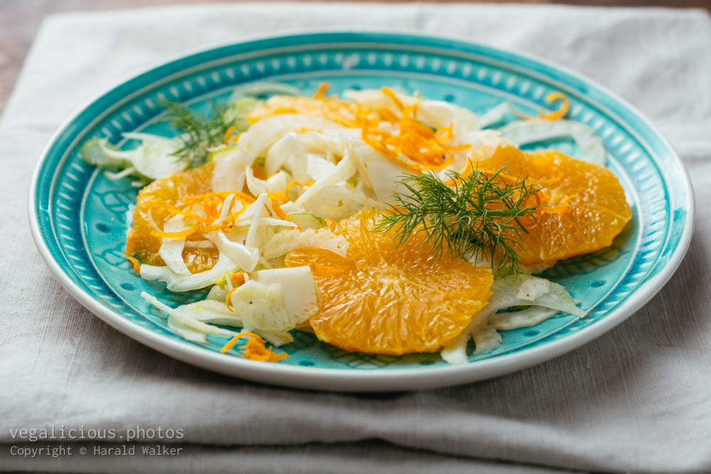 Stock photo of Fennel & Orange Salad