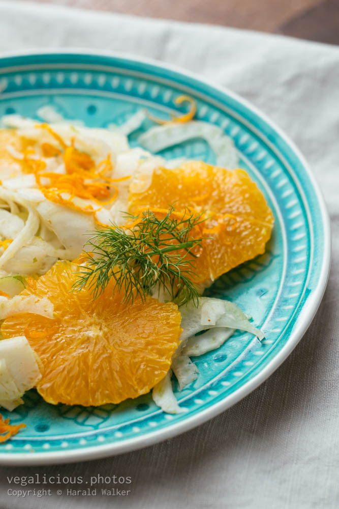 Stock photo of Fennel & Orange Salad