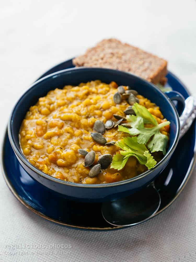 Stock photo of Yellow Split Pea Soup