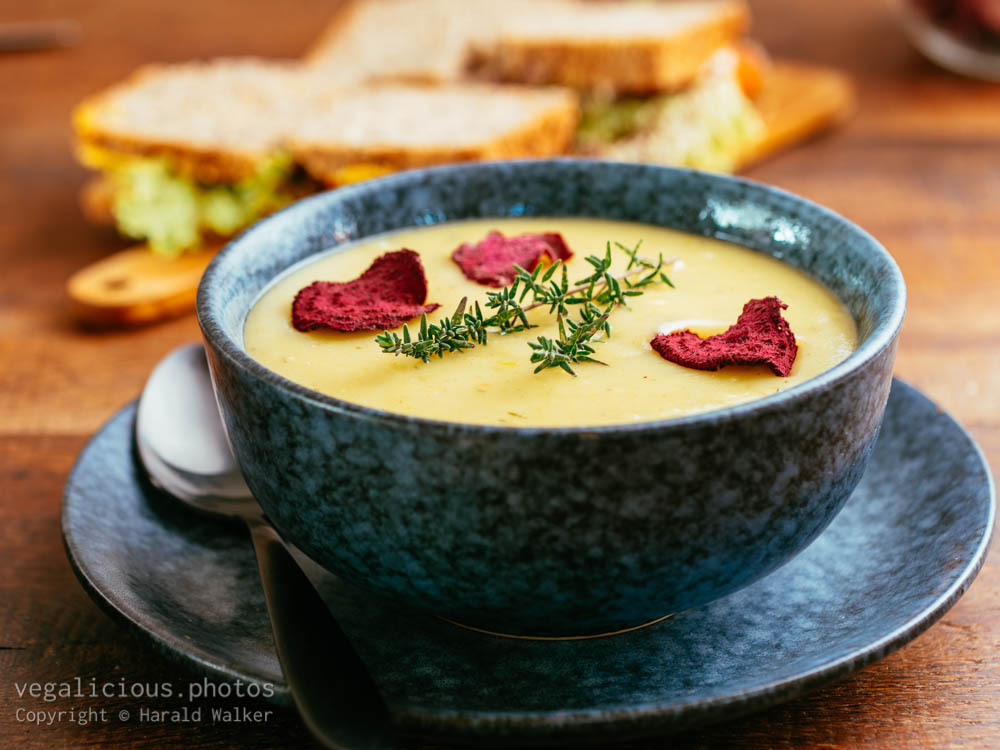 Stock photo of Potato Leek Soup