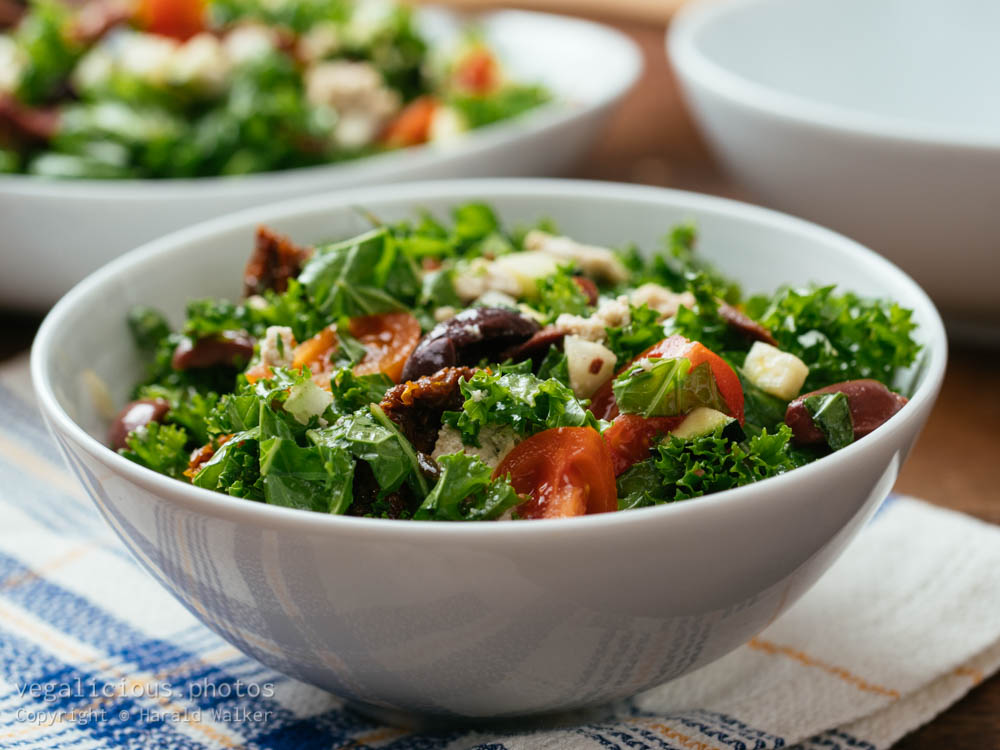 Stock photo of Greek Kale Salad