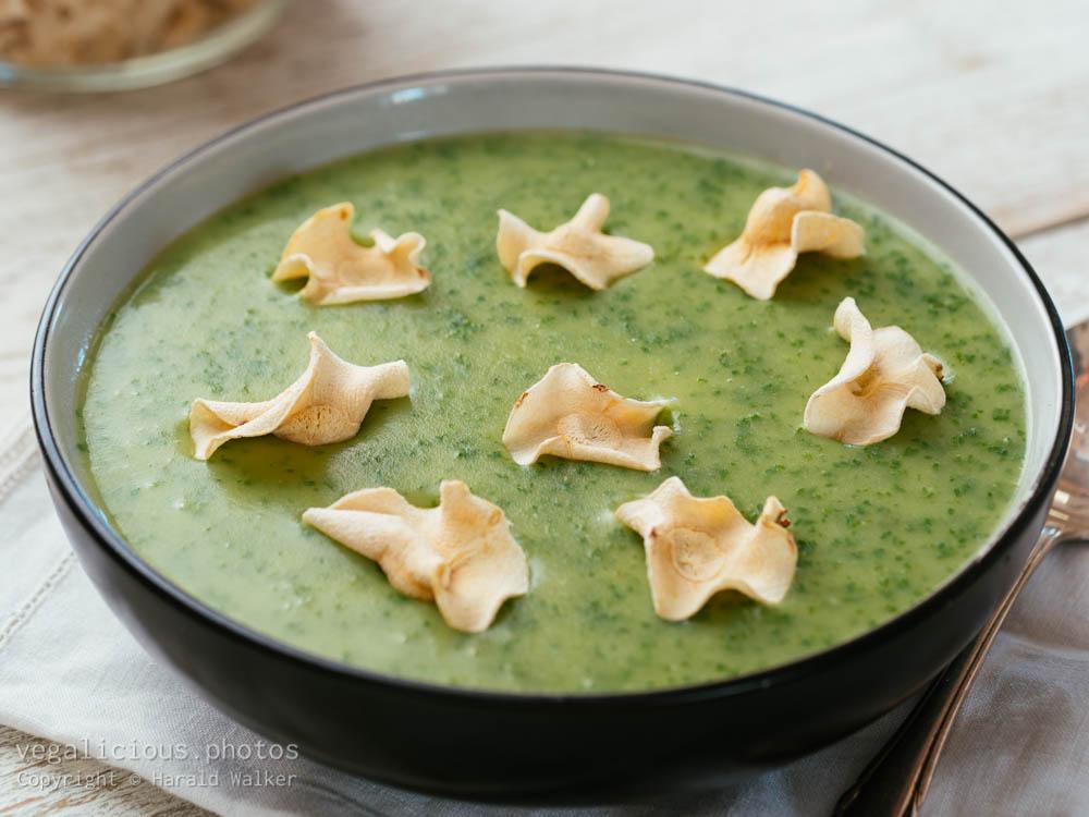 Stock photo of Potato, Leek & Kale Soup