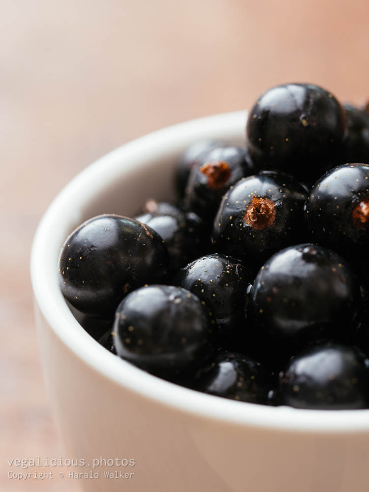 Stock photo of Fresh blackcurrants