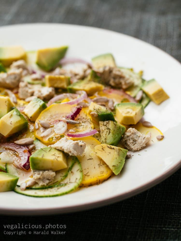Stock photo of Simple Zucchini Salad