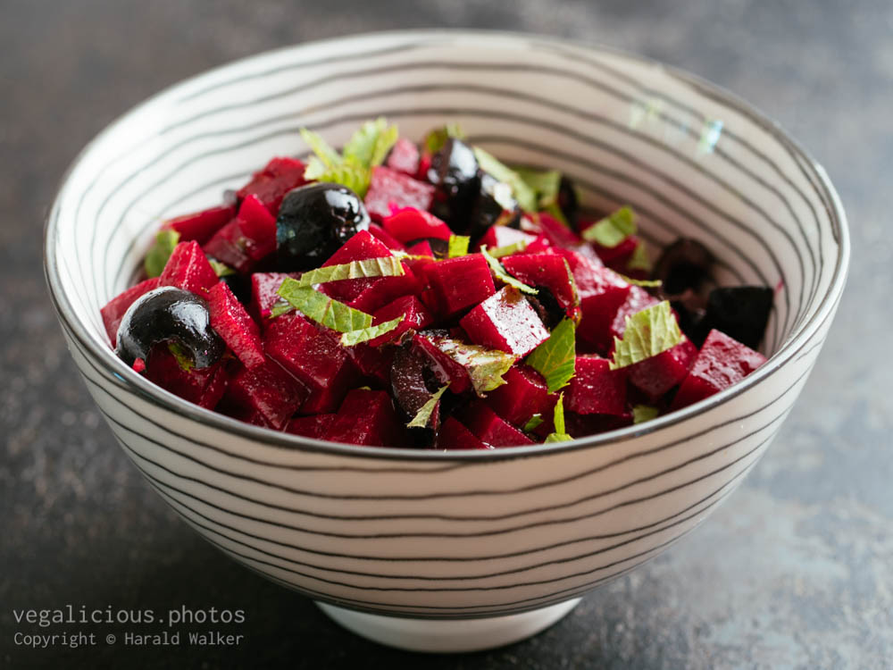 Stock photo of Minted Beets Salad