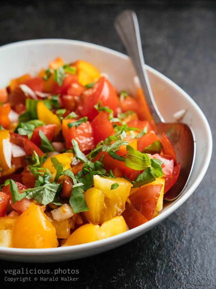 Stock photo of Tomato salad