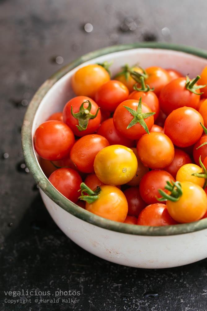 Stock photo of Cherry tomatoes