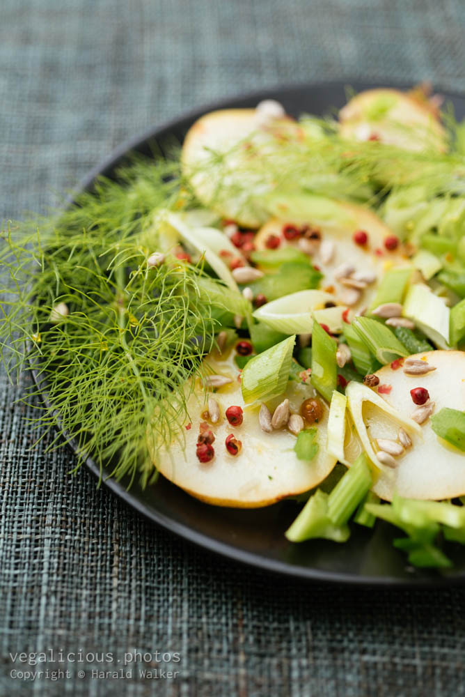 Stock photo of Pear, Celery Fennel Salad