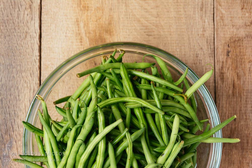 Stock photo of Fresh green beans