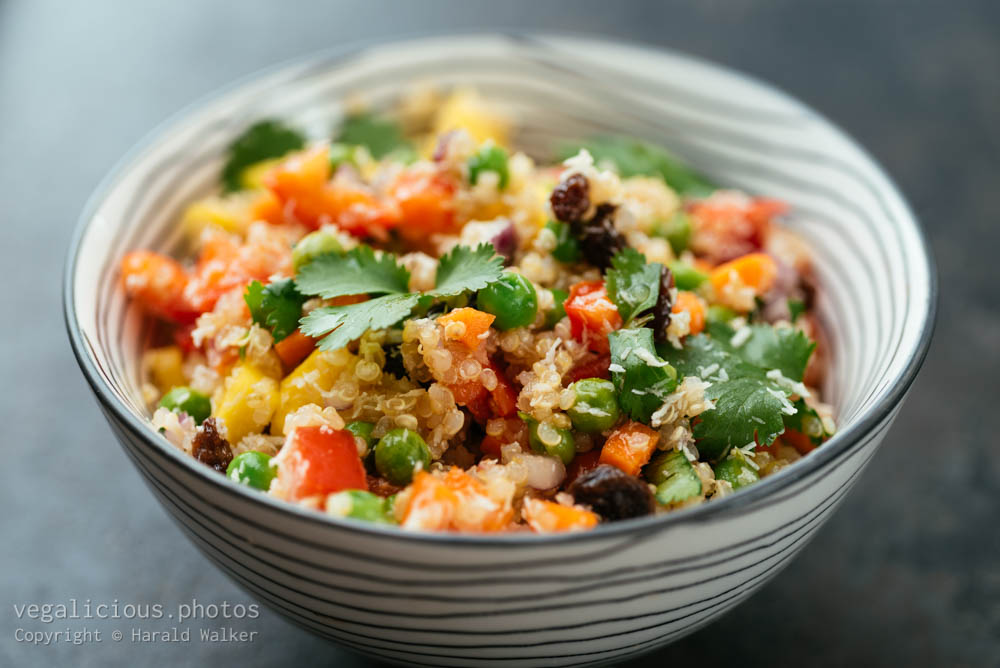 Stock photo of Tropical Quinoa Salad