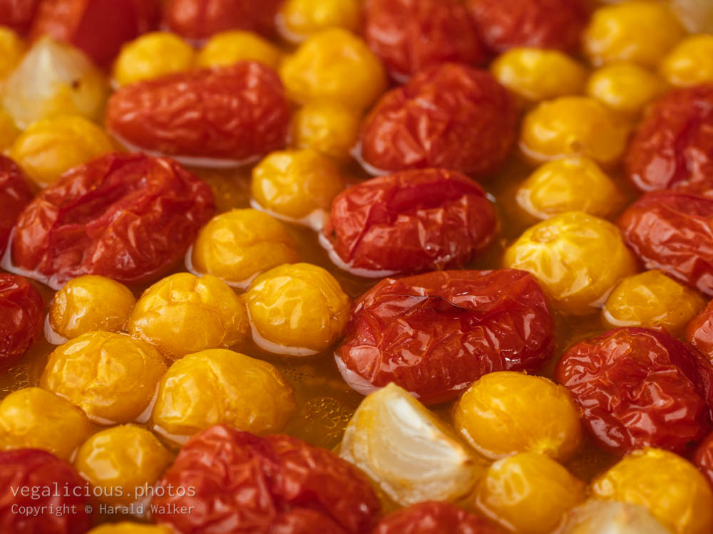 Stock photo of Roasted Tomato and Physalis