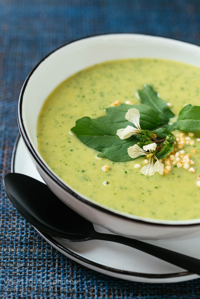 Stock photo of Broccoli, Arugula Soup