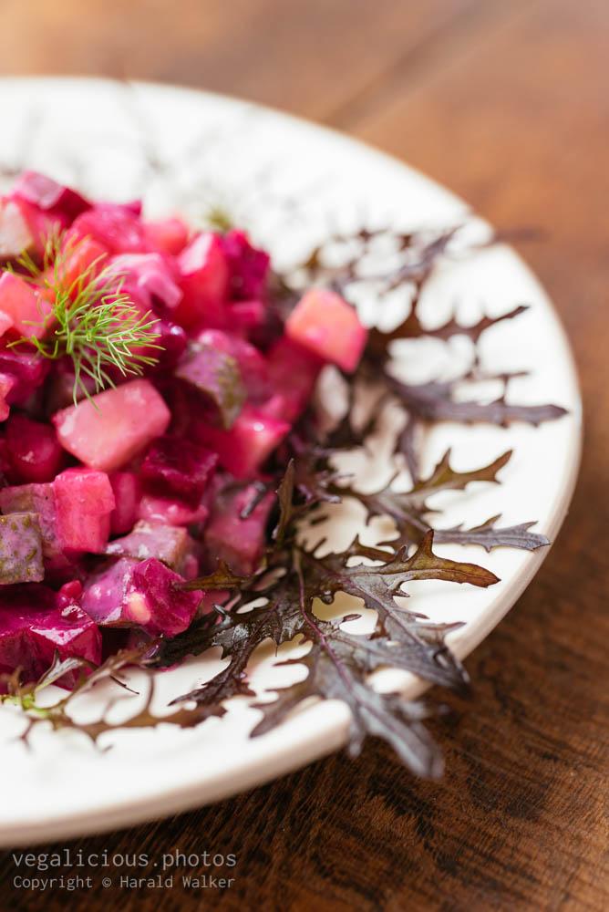 Stock photo of Rosolli – Finnish Beetroot Salad
