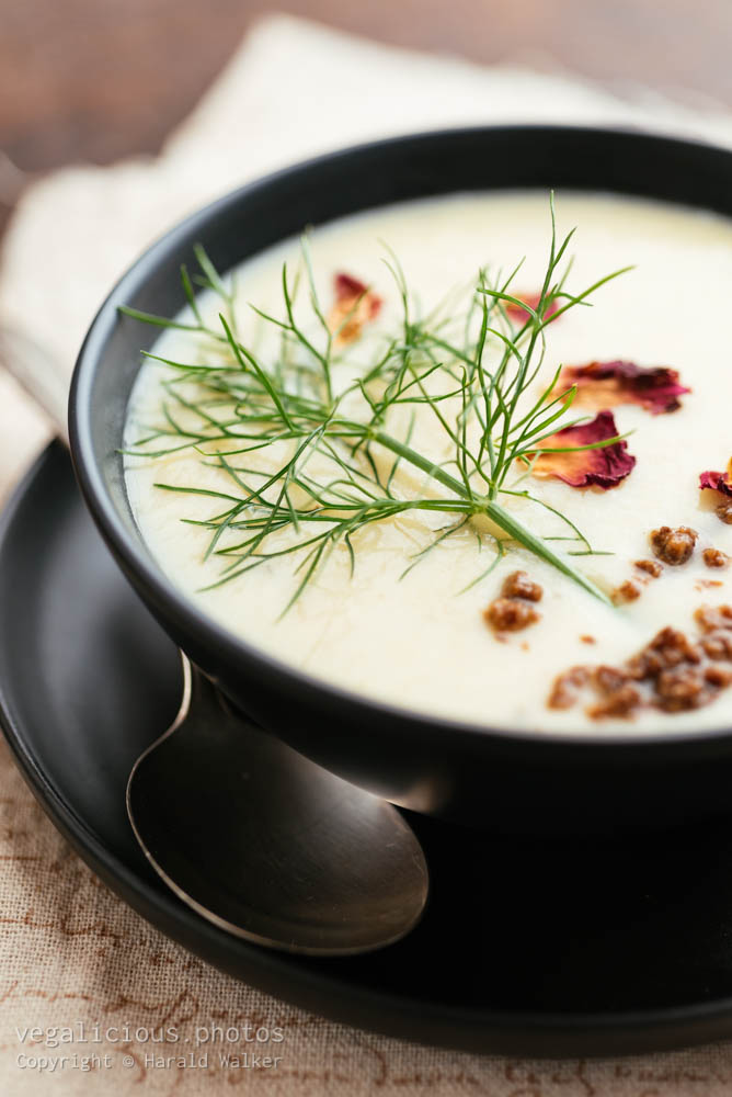 Stock photo of Parsnip Fennel Soup