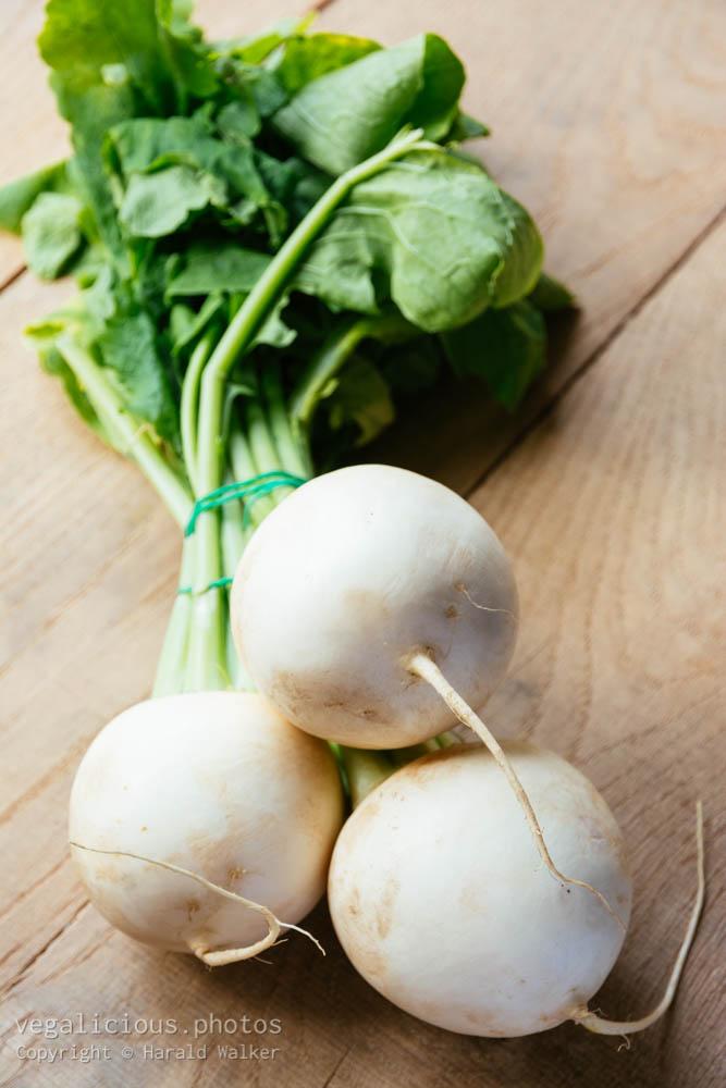 Stock photo of Fresh may turnips