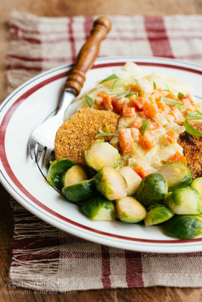 Stock photo of Vegetable Schnitzel