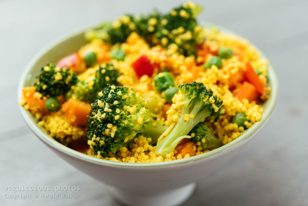 Stock photo of Curried Couscous with Vegetables