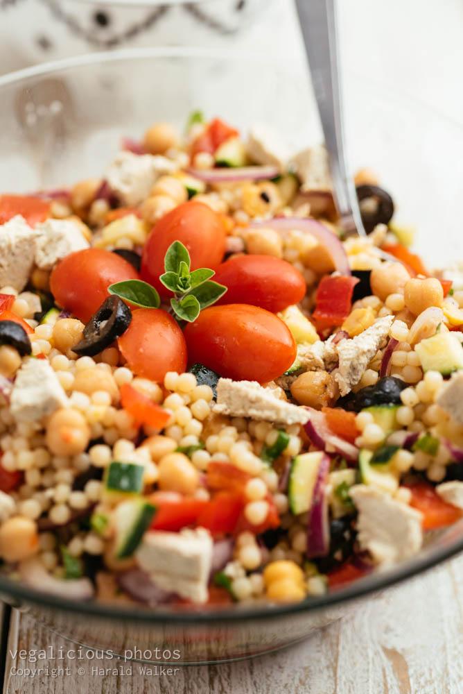 Stock photo of Mediterranean Couscous Salad