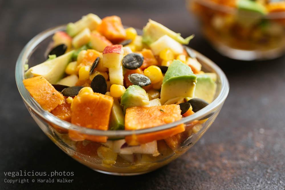 Stock photo of Crunchy Autumn Harvest Salad